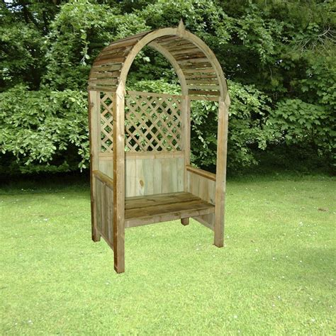 arbour benches wooden curved roof wooden garden arbour bench homegenies