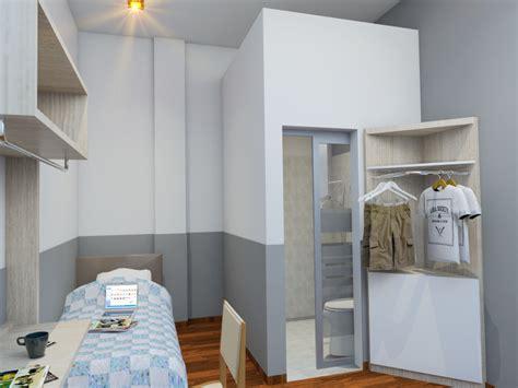 Meja Belajar Pekanbaru design interior kos mewah 3 lantai di pekanbaru desain