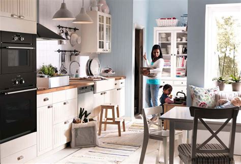 blue kitchen cabinets ikea kitchen design ideas 2012 by ikea white and bright blue