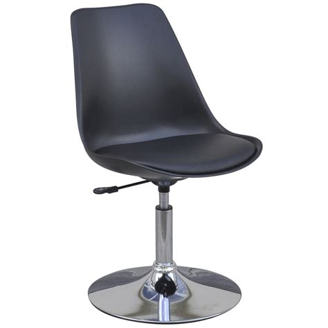 Black 2 Swivel Chairs Black Table With Adjustable Height Table With Swivel Chairs