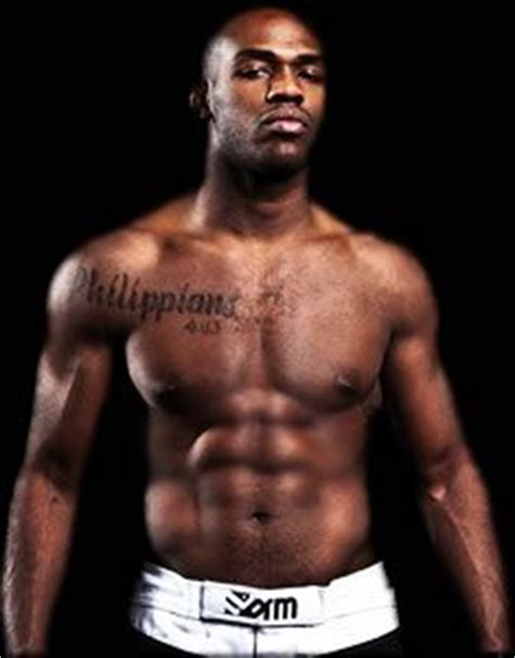 jon jones tattoo jon quot bones quot jones quot i can do all things through who