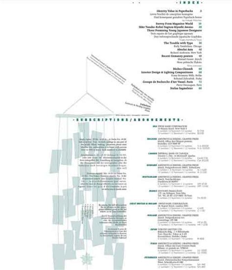 layout for table of contents table of contents design 30 excellent exles from