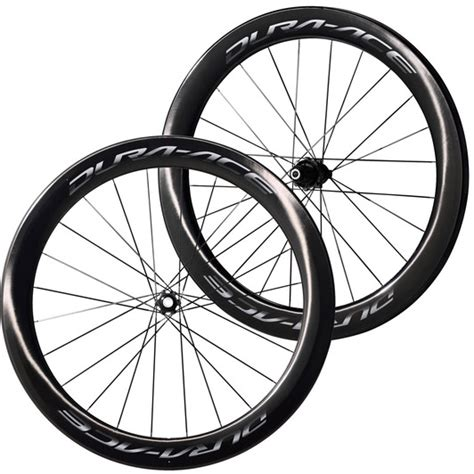 Shimano Dura Ace C60 Clincher Wheelset shimano dura ace r9170 c60 centre lock disc clincher