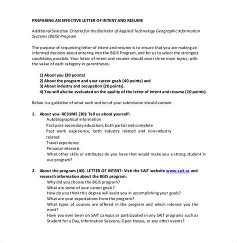 27 simple letter of intent templates pdf doc free