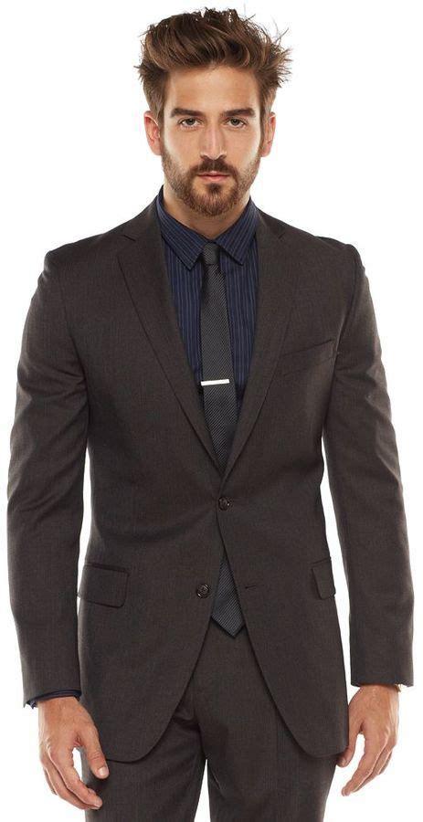 Anthony Navy Sweater Rajut Gk brown suit jacket dress yy