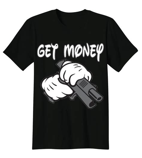 design t shirt and earn money funny t shirt custom design get money gangster mickey