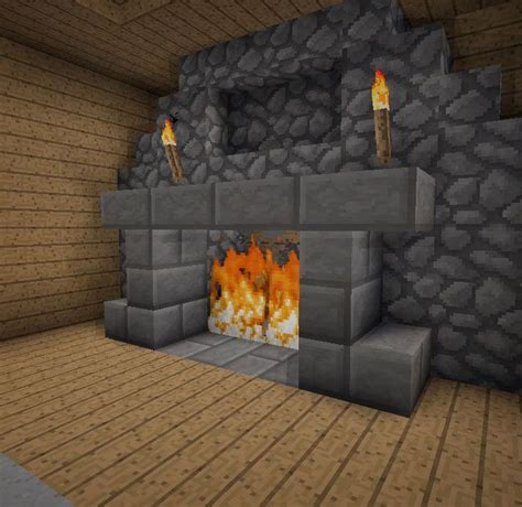 How To Build A Fireplace Minecraft by Minecraft Furniture Fireplaces Minecraft