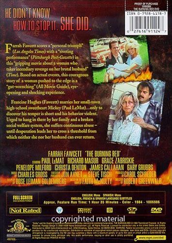 burning bed movie the burning bed dvd 1984 4 99 buy now raredvds biz