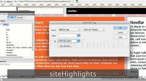 tutorial responsive dreamweaver cs6 adobe dreamweaver tutorials cs5 cs6 how to make a fluid