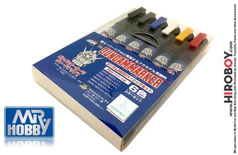 gundam marker seed basic set set of 6 gms109 gsi gms109 gunze sangyo mr hobby