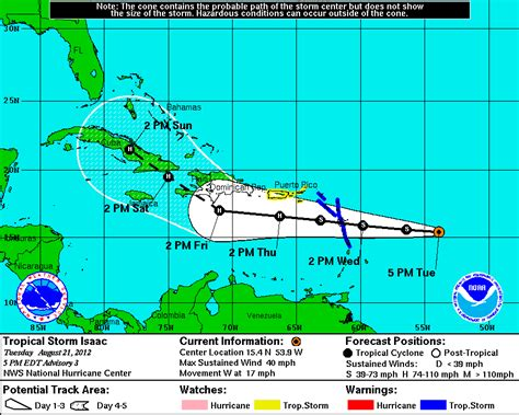 hurricane isaac love boat tropical storm isaac forms in atlantic puerto rico under