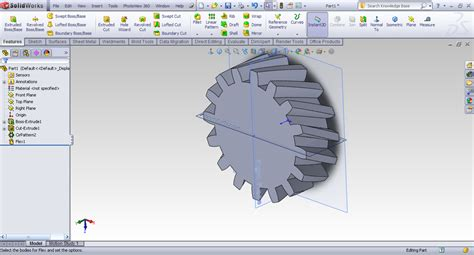 Solidworks Tutorial Helical Gear | tutorial creating helical gear in solidworks grabcad