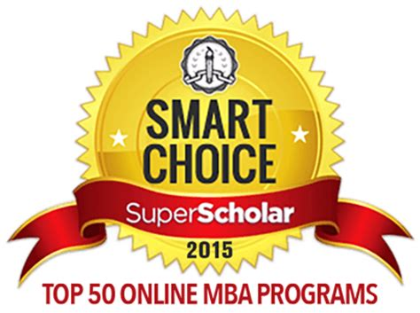 Most Useful Mba Programs by Top 50 Mba Programs 2015 Scholar