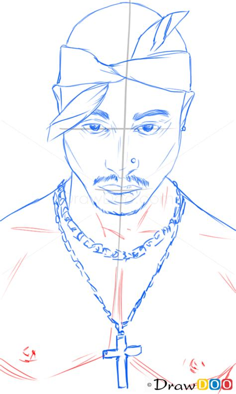 Drawing 2pac by How To Draw Tupac Shakur Singers