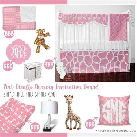 pink giraffe crib bedding 1000 ideas about pink giraffe on always be