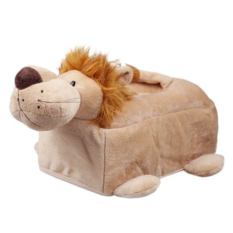 animal toilet paper holder novelty plush animal tissue cover box room car toilet soft