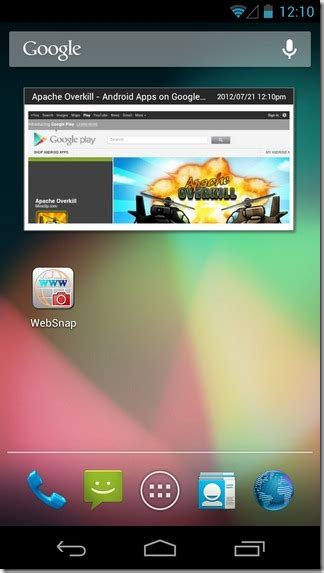widgets on android capture selective or websites on android with live widget support