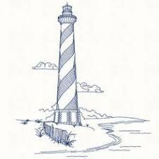 gallery  simple lighthouse outline art design