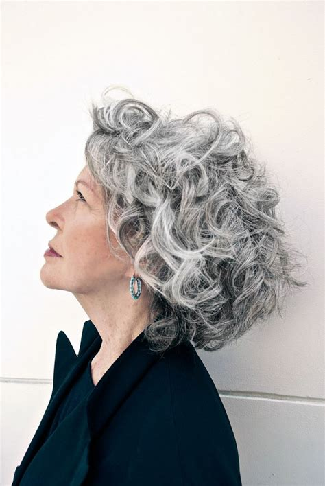 how smooth grey coarse frizzy hair hairstyles for short curly gray hair 2017 2018 best