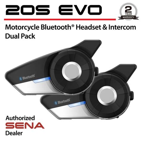 20s Dual Pack Intercombluetooth Communication Helmet 20s evo 01d motorcycle helmet bluetooth headset intercom dual pack