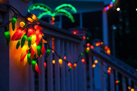 Chili Lights by Outdoor Chili Pepper Lights 35 Count Chili Pepper String