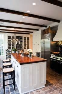 brick kitchens color outside the lines kitchen inspiration month day one brick floors