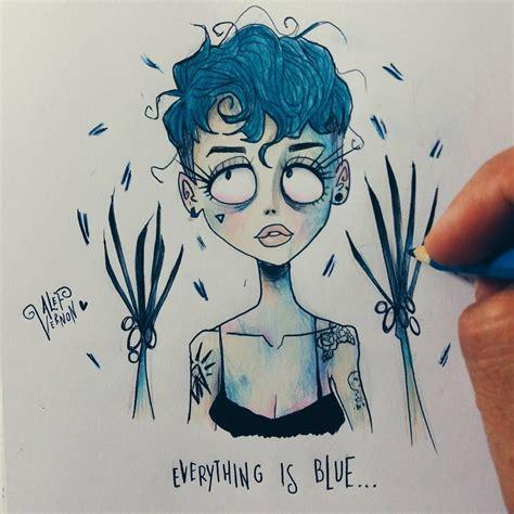 Drawing K On Style by Halsey In Tim Burton Style αят Tim Burton