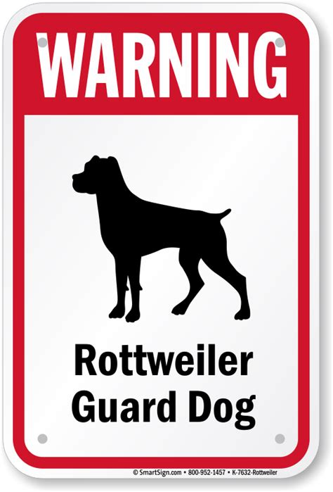 are pugs guard dogs pug guard rottweiler sign signs by breed best prices sku k 7632 rottweiler