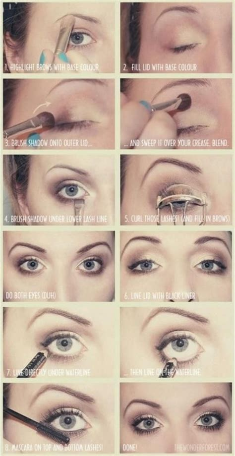 tutorial makeup basic 10 eye makeup tutorials for beginners pretty designs