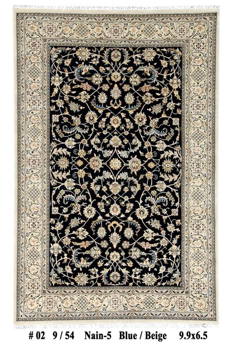 carpet exchange area rugs voguish 10x6 knotted wool pile nain area rug handmade