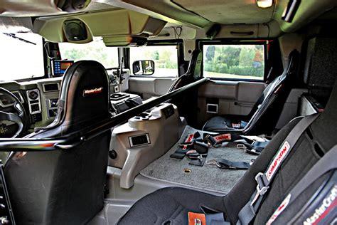 survival truck interior 2001 hummer h1 custom suv 116387
