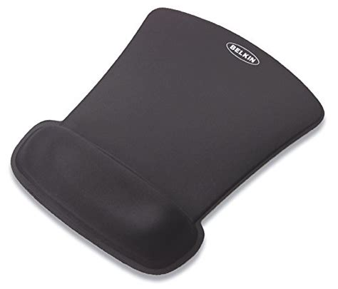 Mouse Mat With Wrist Support by Belkin Waverest Gel Mouse Pad With Wrist Support Black