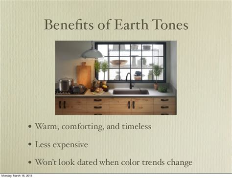 Miller Works The Earth Tones by Earth Tones In The Kitchen