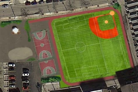 how to build a baseball field in your backyard cubs charities give 50 000 to help alcott build turf
