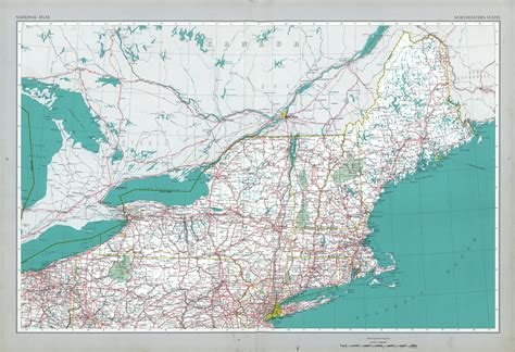 northeastern cus map northeastern states map united states size