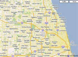 Chicago And Suburbs Map by Chicago Map Neighborhoods And Suburbs