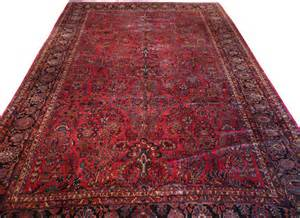 12x18 Area Rugs 12x18 4 Antique Sarouk Rug Traditional Area Rugs By Rug Galaxy