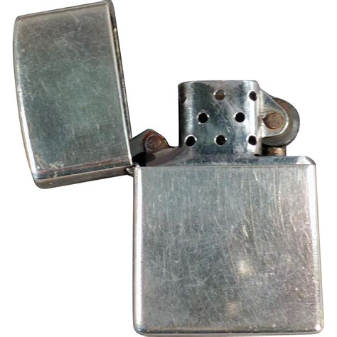 zippo vintage vintage zippo basic cigarette lighter from ogees on ruby