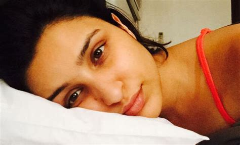 selfies in bed celebrities now share their sickest selfies