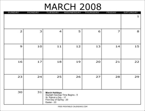 Monthly Calendars 2008 2008 Free Printable Calendars Free Printable Calendars