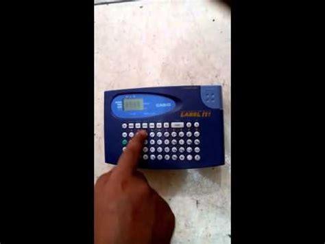 Mesin Label Printer Casio Kl 60 cara membuat barcode harga doovi