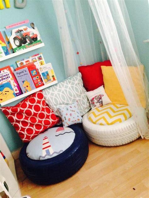 pouf chambre enfant 1001 tutos cool pour fabriquer un pouf originale