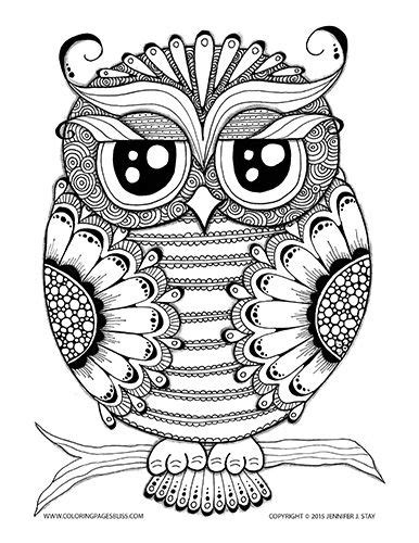 owl mandala coloring pages for adults 17 images about coloring pages on