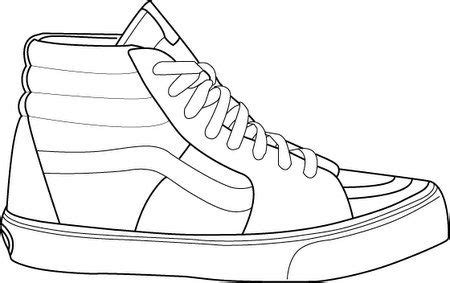 sneaker template gallery for shoe template shoes drawings