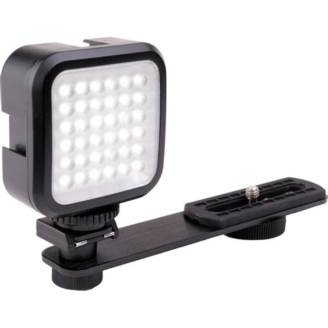 best on camera led light genaray led 2100 36 led compact on camera light led 2100 b h