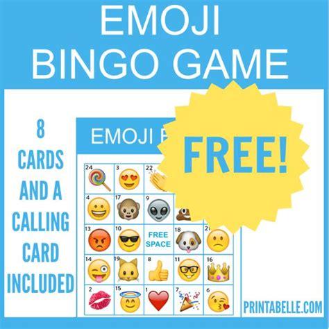 printable bingo tickets uk the 25 best emoji bingo ideas on pinterest all emoji