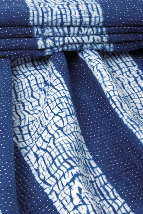 fabrics and clothes shibori on shibori