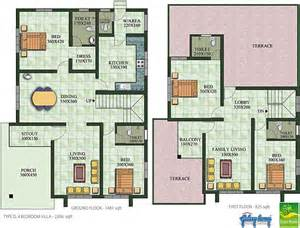 Different Types Of Floor Plans Galaxy Homes Villas And Apartments Kochi Amp Kozhikode