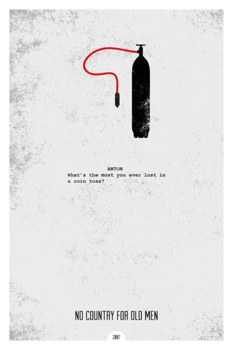 no country for old men minimalist poster by chris3290 on minimalist movie posters with iconic quotes by dopeprints 123 inspiration