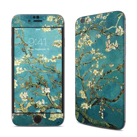 custom themes for iphone 6 apple iphone 6 skin blossoming almond tree by vincent